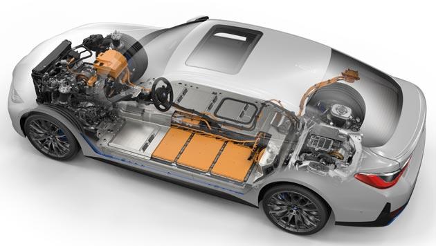 BMW i4 M50 - układ napędowy