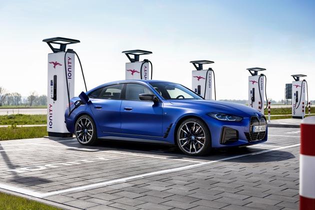 BMW i4 M50 - ładowanie