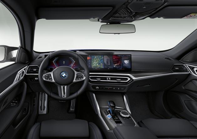 BMW i4 - wnętrze