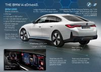 BMW i4 eDrive40 - informacje techniczne